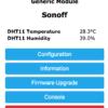 DHT11 Tasmota Webinterface