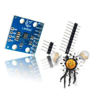 Gyroskop- Beschleunigungs- DOF- Sensoren