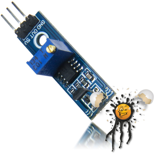 A3144 Magnetic Switch Hall Sensor 3 Pin Module