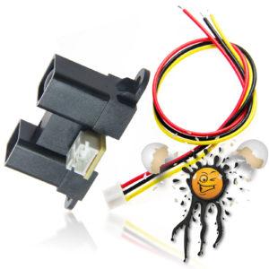 Sharp GP2Y0A02 analog IR 20-150 cm Distance Sensor Module Set