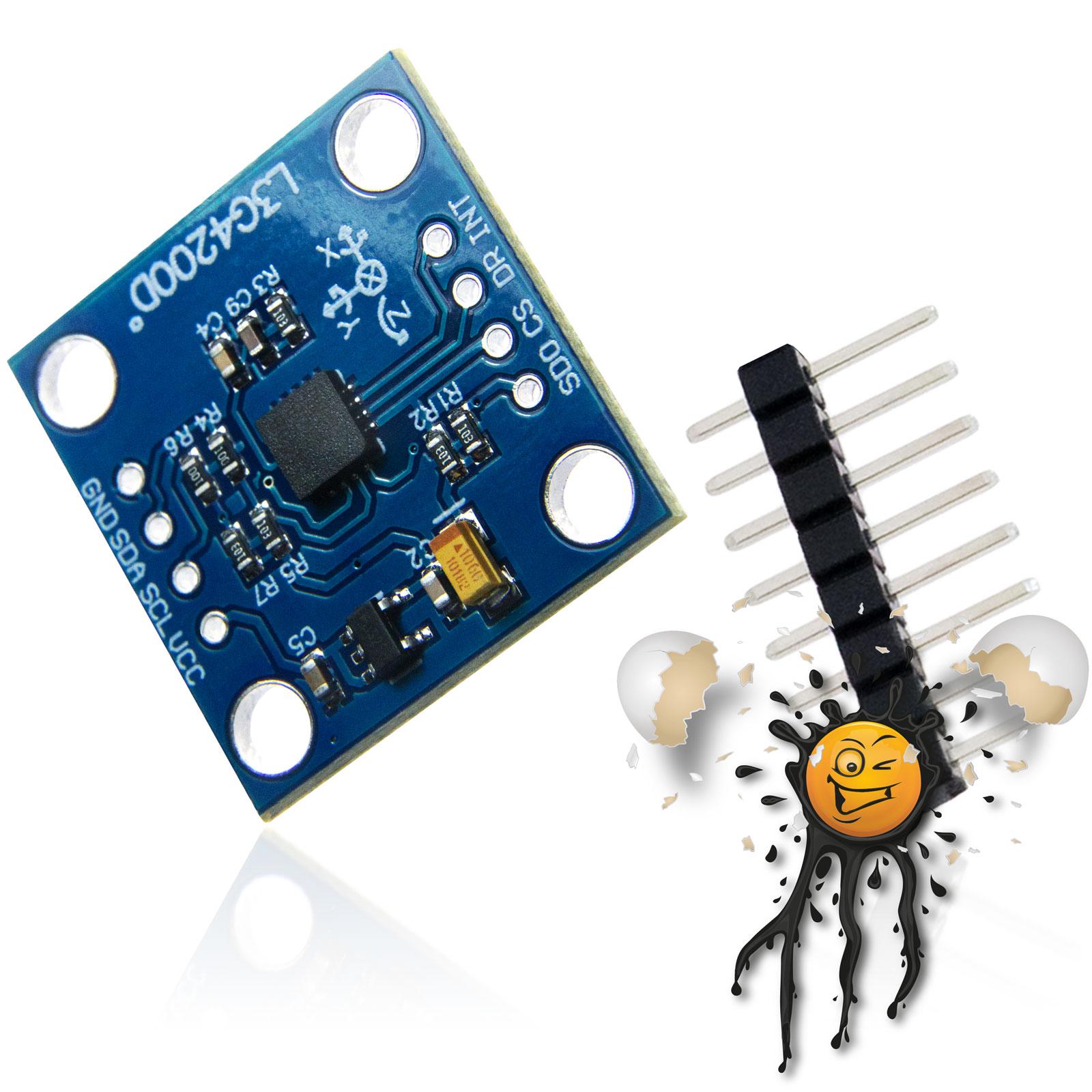GY-50 accelerometer sensor module