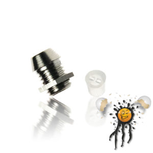 3mm Metal LED Holder incl. Insulator
