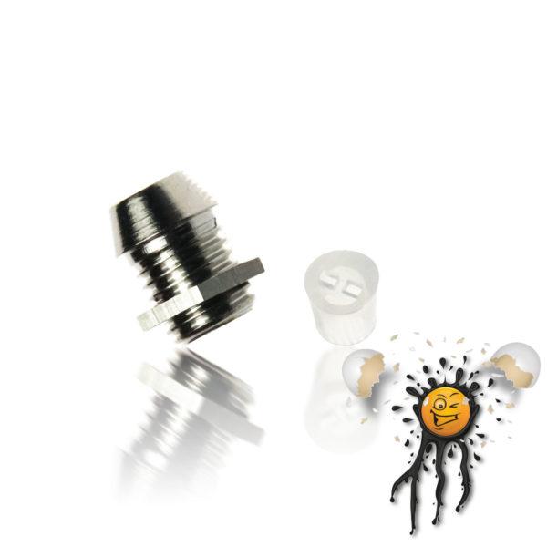 3mm Metal LED Holder incl. Insulator