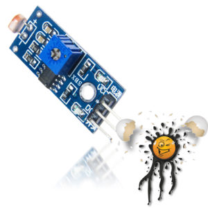 3-Pin LM393 digital LDR Light Sensor Module