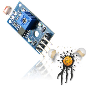 LM393 LDR Light Diode Sensor 4 Pin Module