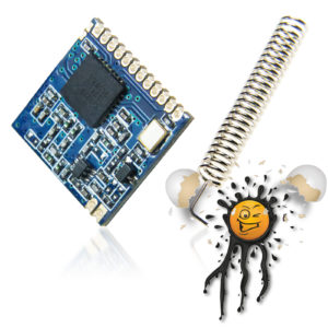 Semtech SX1278 LoRa® Module incl. Springantenna