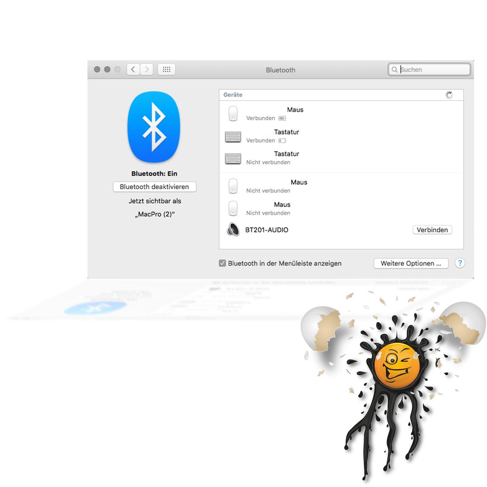 OS X Bluetooth audio player