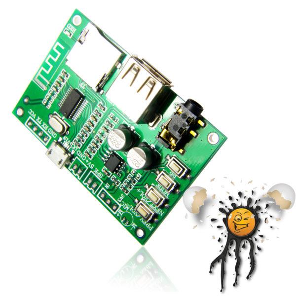 BT201 Bluetooth TF Card UDisk MP3 Player Module