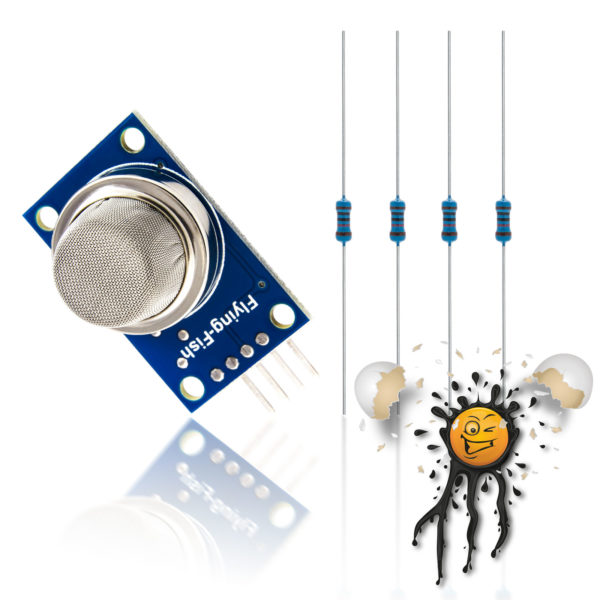 ESP8266 Arduino MQ Gas Sensor Set