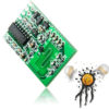 Motion Radar Sensor Switch Module 10-28 VDC