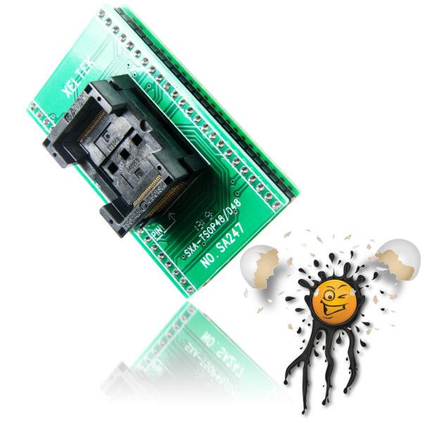 TSOP48 to 48 Pin Socket Converter Module