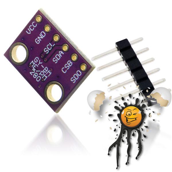 BME280 Temperature Barometric Humdity Sensor Module