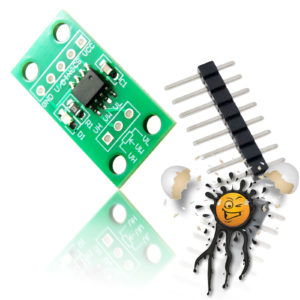 X9C103S 10KΩ digital Potentiometer Board incl. Pinheader
