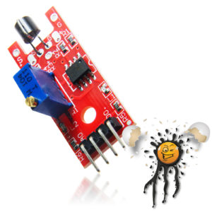 Arduino KY-036 Metal Touch Sensor Module