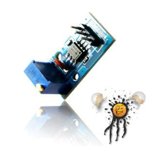 NE555 4 Hz.- 1.3 KHz. Frequency Generator