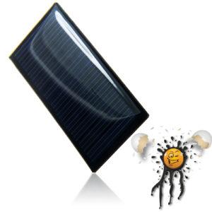 3.7V polycrystalline Solar Panel 57 x 28 mm