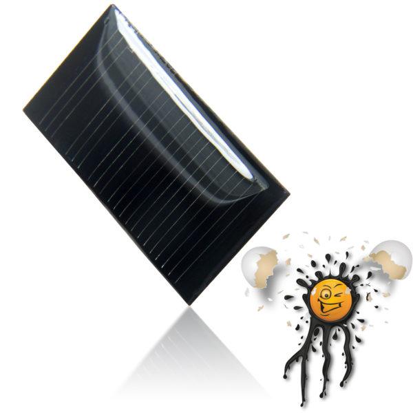 3V polycrystalline Solar Panel 40 x 20 mm