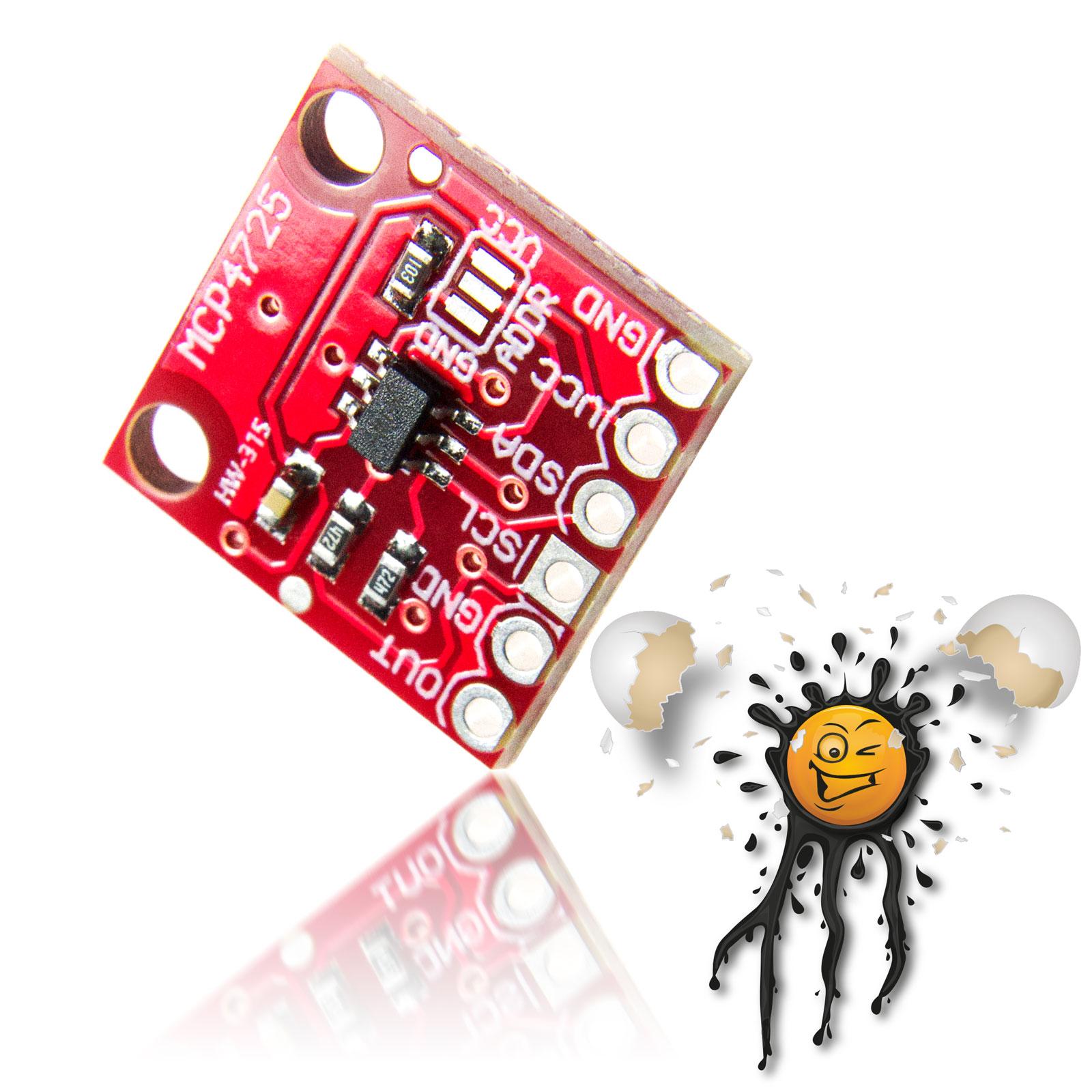 3.3V 5V Digital Analog Converter Module MCP4725