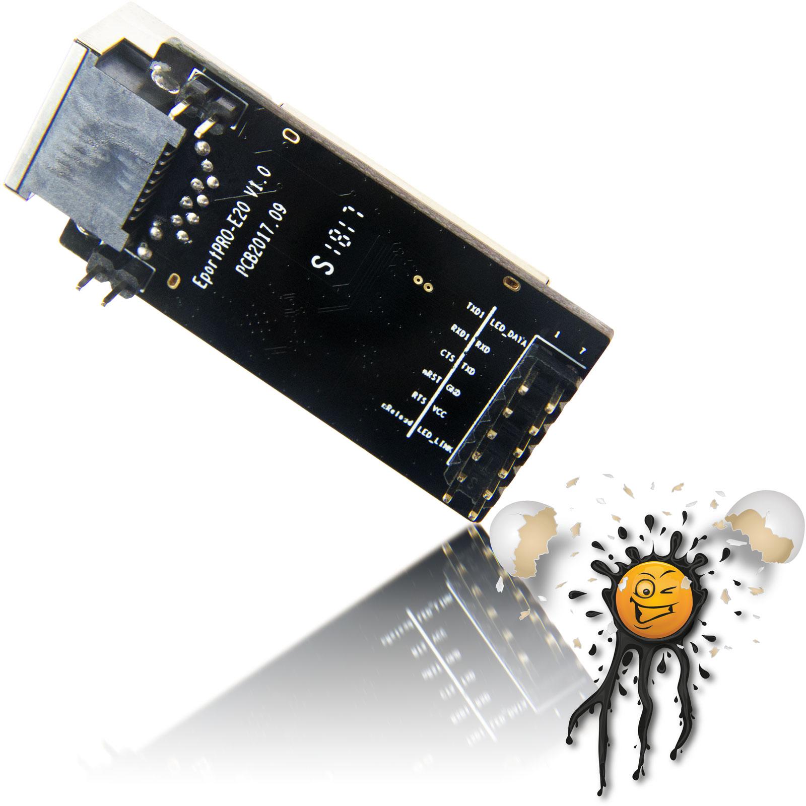Ethernet to UART serial Brdige Linux Server System Settings