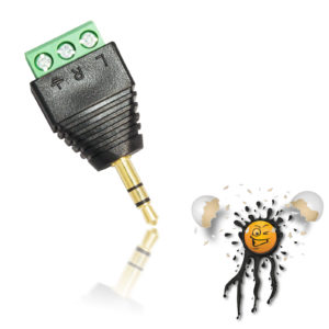 3.5 mm 3 core Audio Adapter