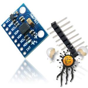 GY-521 MPU-6050 MEMS DMP 3-axis accelerometer