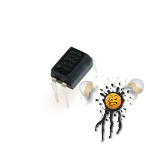PC817 Photocoupler High Noise Resistance Type DIP-4 IC