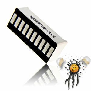 Bargraph 10 segment LED Module