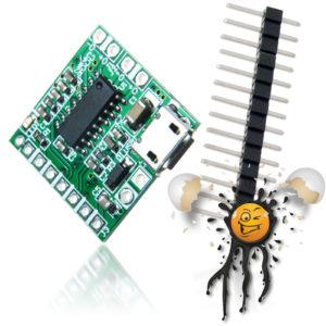 PAM8403 USB Micro Stereo Amplifier Module 2.5 - 5V