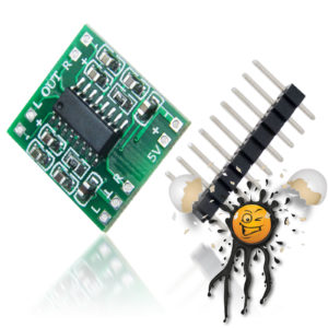 PAM8403 Stereo Amplifier Standard Module 2.5 - 5V