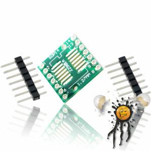 SOP14 SSOP14to Dip Break Out Adapter incl. Pins