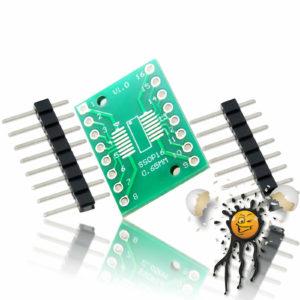 SOP16 SSOP16 to Dip Break Out Adapter incl. Pins