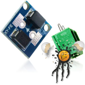 XY-FE Schottky Anti- Reverse Module with Connector