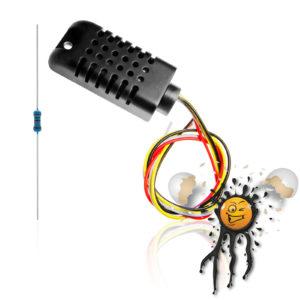 AM2301 Temperature and Humdity Sensor incl. Pullup Resistor