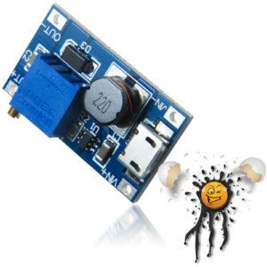 USB Micro MT3608 Step Up Voltage Converter