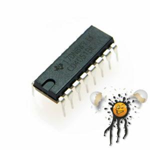 CD4051 single 8 channel demultiplexer multiplexer DIP-16 IC