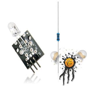 KY-005 IR Transmitter Module Set incl. Resistor