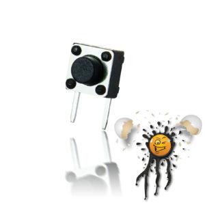 2-Pin Micro Switch 90° 4.2 - 12 mm