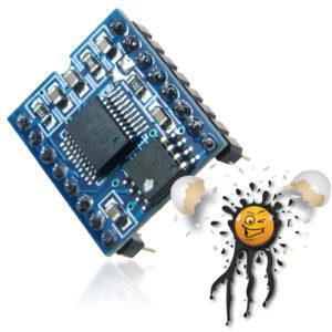 SPI Voice Sound Recorder WT588D-M01 16P