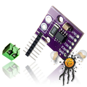 INA282 analog high/low side Current- Sensor incl. Pin Header and Screw Connector