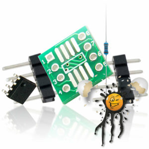 DS2480 1-wire RS232 UART serial Extension Set 5-items